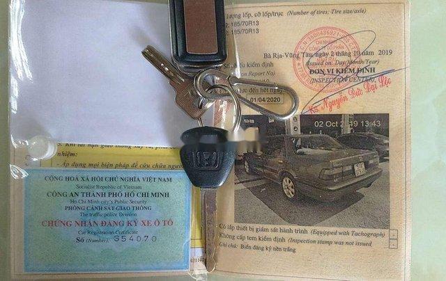 Cần bán gấp Honda Accord năm sản xuất 1989, màu đỏ, xe nhập, giá 52tr2