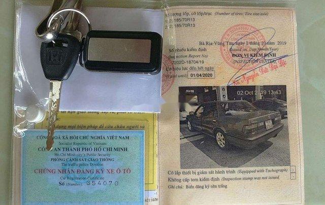 Cần bán gấp Honda Accord năm sản xuất 1989, màu đỏ, xe nhập, giá 52tr3