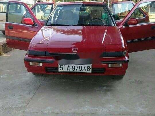 Cần bán gấp Honda Accord năm sản xuất 1989, màu đỏ, xe nhập, giá 52tr0
