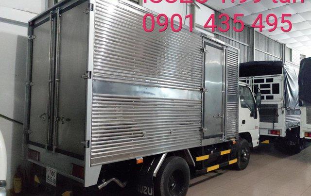 Isuzu 1.99 tấn, KM: Máy lạnh, 12 phiếu bảo dưỡng, radio MP31