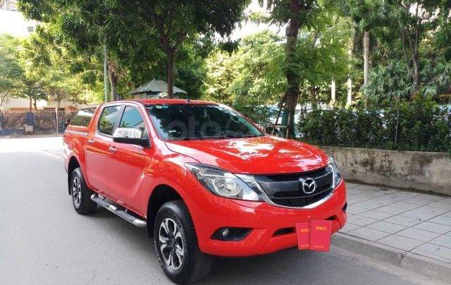 Ô tô Thủ Đô bán xe Mazda BT50 2.2AT SX 2016, màu đỏ, 509 triệu0