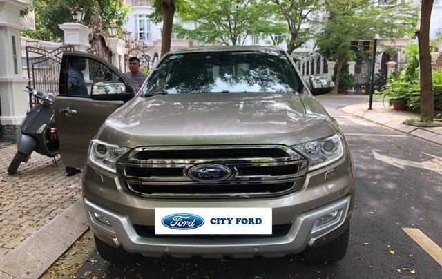 City Ford Used Car bán Ford Everest 2.2 Titanium SX 2016 đăng ký 2017 nhập khẩu trả góp0