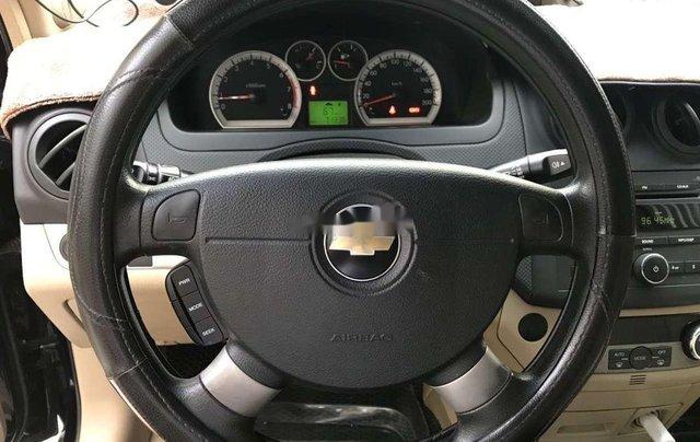 Bán Chevrolet Aveo MT năm sản xuất 2016, màu đen 9