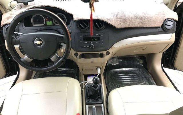 Bán Chevrolet Aveo MT năm sản xuất 2016, màu đen 4