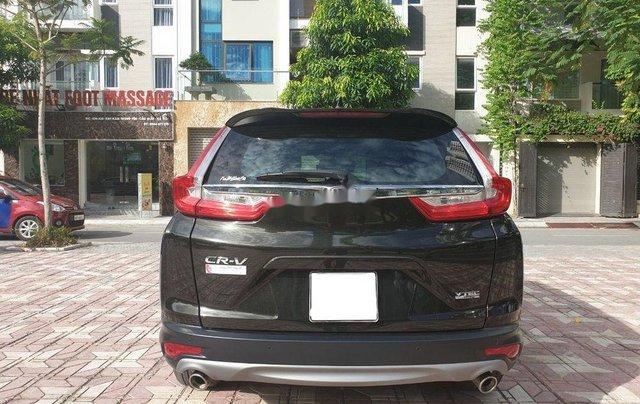 Bán xe Honda CR V Tubo L 2018, màu đen đẹp như mới7