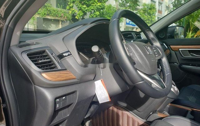 Bán xe Honda CR V Tubo L 2018, màu đen đẹp như mới5