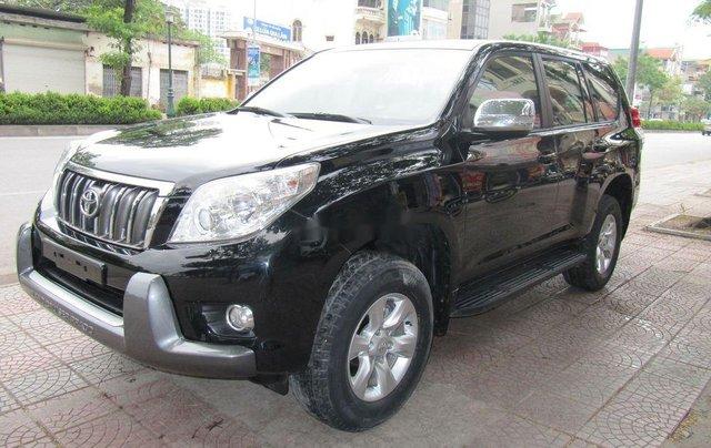 Bán Toyota Prado TXL 2010, màu đen, nhập khẩu Nhật Bản2