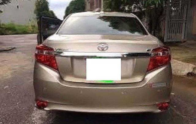Cần bán lại xe Toyota Vios G 2014, màu vàng, chính chủ1