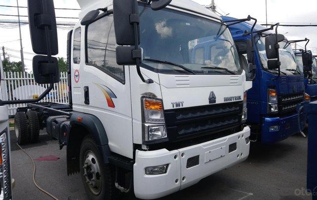 Gía tốt nhất xe tải HOWO 8T5 thùng 6m851