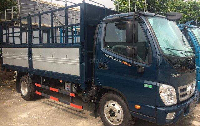 Bán Thaco Ollin 350 tải 2T5 và 3T5 đời 2019 giá xuất xưởng, hỗ trợ trả góp 80%. LH 0966821033 tại Hà Nội0