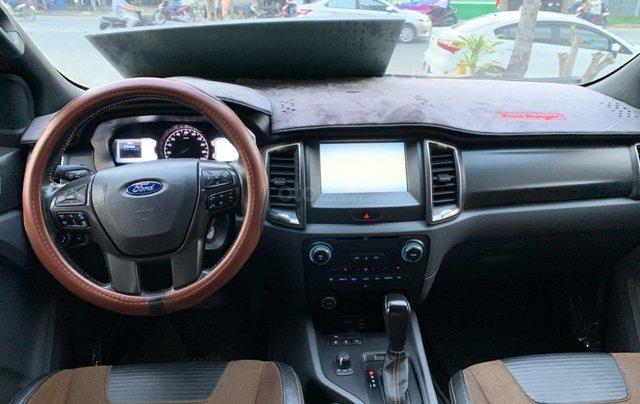 Ford Ranger Wildtrak 3.2L 4x4 đời 2015 màu cam, giá thương lượng, hotline 09012 678 553