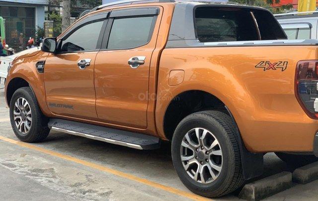 Ford Ranger Wildtrak 3.2L 4x4 đời 2015 màu cam, giá thương lượng, hotline 09012 678 557
