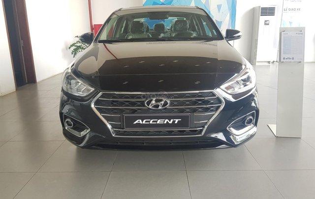 Bán Hyundai Accent 1.4 AT đặc biệt mới 2019, màu đen, xe sẵn đủ màu giao ngay0
