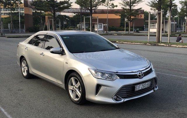 Bán Toyota Camry 2015 2.5Q, giá 856tr gặp chính chủ4