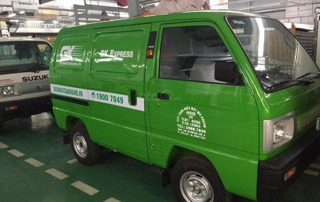 Xe tải Suzuki Van chạy giờ cấm 24/7, đủ màu, giao ngay giá cực sốc, hỗ trợ Bank, lãi suất tốt0