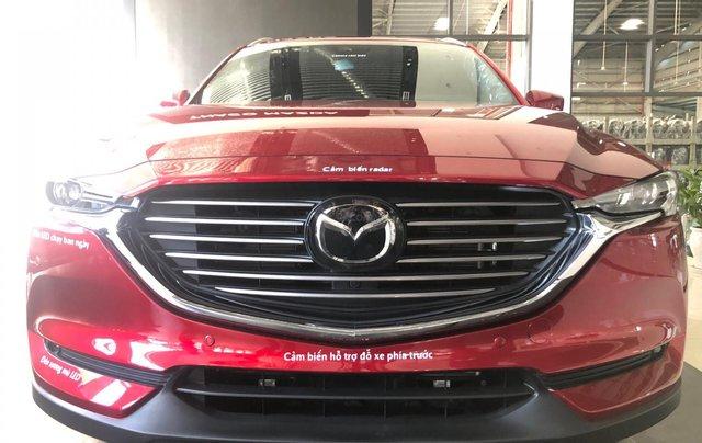 Mazda CX8, ưu đãi 40tr, trả trước 335tr0
