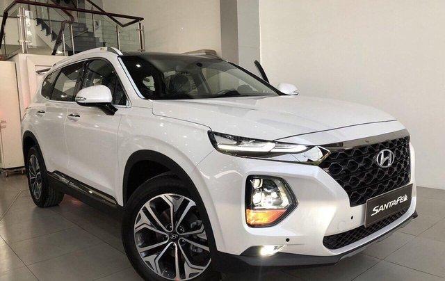 Hyundai Santa Fe 2019, giao ngay, giảm tiền mặt, tặng bộ phụ kiện giá trị khủng theo xe0