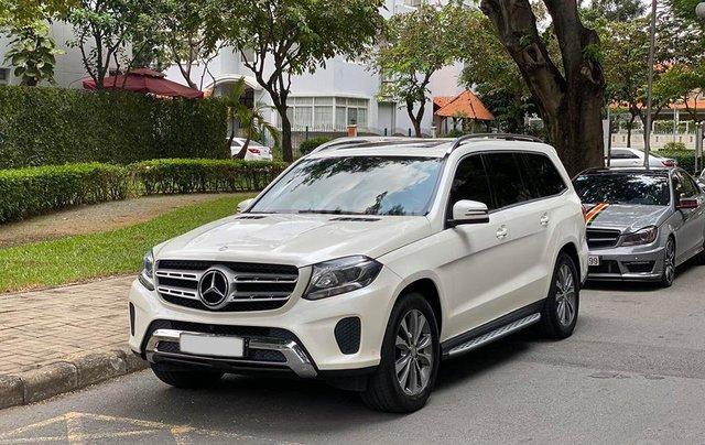 Bán Xe Mercedes GLS400 4MATIC trắng 2017, trả trước 1 tỷ 400 triệu nhận xe ngay1