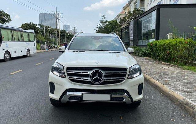 Bán Xe Mercedes GLS400 4MATIC trắng 2017, trả trước 1 tỷ 400 triệu nhận xe ngay4