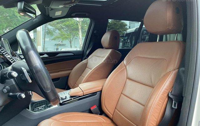 Bán Xe Mercedes GLS400 4MATIC trắng 2017, trả trước 1 tỷ 400 triệu nhận xe ngay8