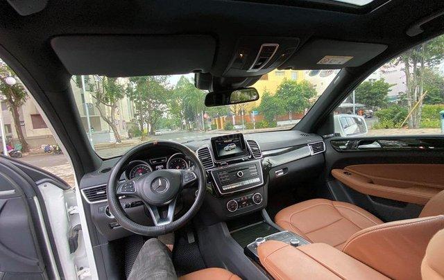 Bán Xe Mercedes GLS400 4MATIC trắng 2017, trả trước 1 tỷ 400 triệu nhận xe ngay11