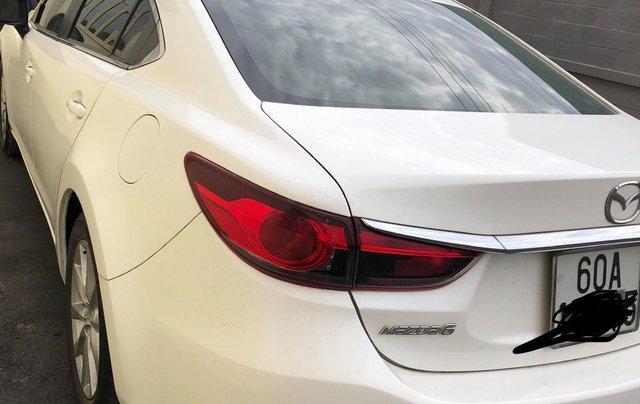 Bán xe Mazda 6 sản xuất 2015, màu trắng 2.0 AT1