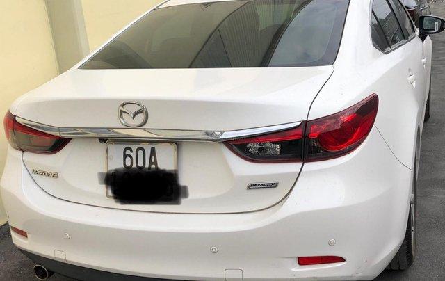 Bán xe Mazda 6 sản xuất 2015, màu trắng 2.0 AT2