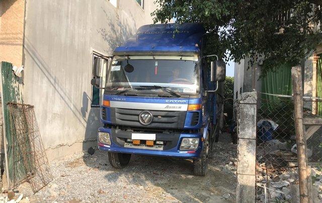 Cấn bán lại xe tải Thaco Auman C1500 3 chân co, tải cao 14,8 tấn, thùng dài 7,8m lốp đẹp2