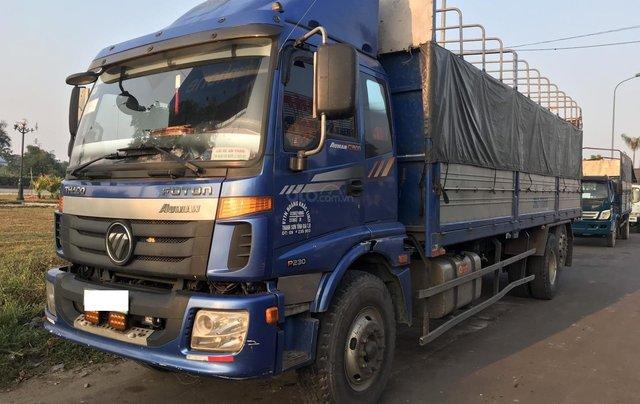 Cấn bán lại xe tải Thaco Auman C1500 3 chân co, tải cao 14,8 tấn, thùng dài 7,8m lốp đẹp0