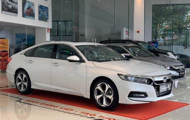 [Đồng Nai] Honda Accord 2020 màu trắng giá 1 tỷ 329 triệu, nhiều ưu đãi, giao ngay, hỗ trợ vay 85%1
