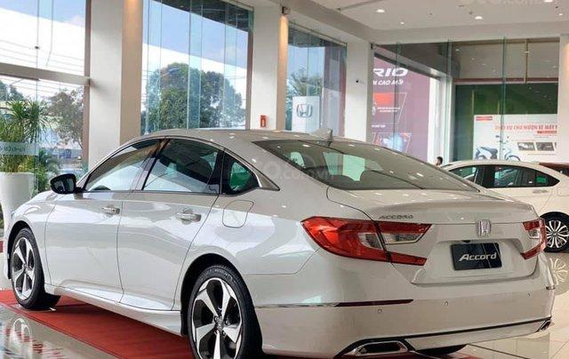 [Đồng Nai] Honda Accord 2020 màu trắng giá 1 tỷ 329 triệu, nhiều ưu đãi, giao ngay, hỗ trợ vay 85%6