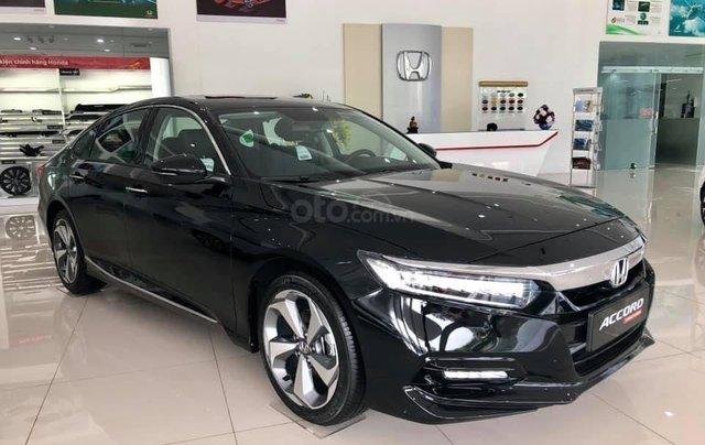 Bán Honda Accord 2020 Đồng Nai màu đen, giao ngay giá 1,319 triệu, ưu đãi cực tốt, hỗ trợ vay 85%1