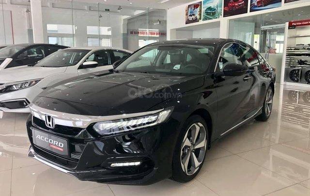 Bán Honda Accord 2020 Đồng Nai màu đen, giao ngay giá 1,319 triệu, ưu đãi cực tốt, hỗ trợ vay 85%3