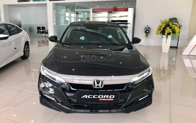 Bán Honda Accord 2020 Đồng Nai màu đen, giao ngay giá 1,319 triệu, ưu đãi cực tốt, hỗ trợ vay 85%0