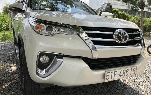 City Ford Used Car bán Toyota Fortuner 2.7V (4x2) năm 2017 nhập khẩu trả góp, xe còn bảo hành hãng2