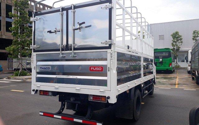 Xe tải Fuso Canter Mitsubishi 4.99 tải trọng 2.1 tấn 2019, hỗ trợ trả góp tặng 1000 lít dầu2