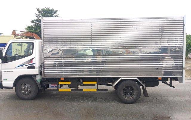 Xe tải Fuso Canter Mitsubishi 4.99 tải trọng 2.1 tấn 2019, hỗ trợ trả góp tặng 1000 lít dầu12