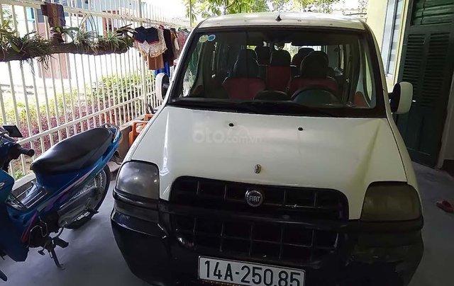 Cần bán Fiat Doblo 2003, màu trắng xe gia đình, giá tốt xe nguyên bản0