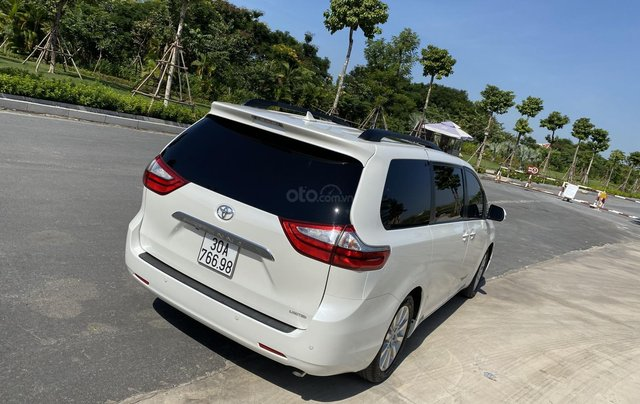 Toyota Sienna Limited 3.5 AT FWD 2015, màu trắng2