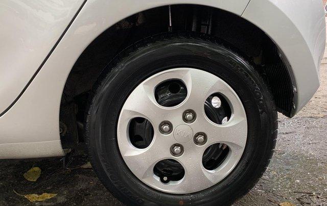 Bán xe Kia Morning Van đời 2012, màu bạc, nhập khẩu2