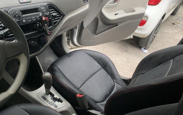 Bán xe Kia Morning Van đời 2012, màu bạc, nhập khẩu8