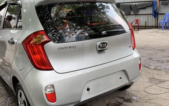 Bán xe Kia Morning Van đời 2012, màu bạc, nhập khẩu3