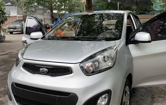 Bán xe Kia Morning Van đời 2012, màu bạc, nhập khẩu4