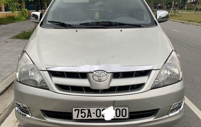 Bán Toyota Innova 2008, màu bạc, nhập khẩu nguyên chiếc  0
