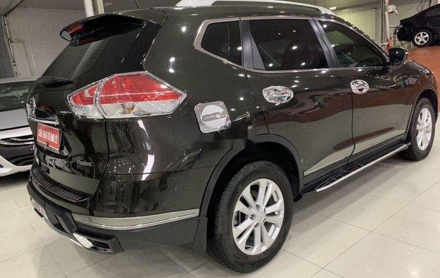 Salon bán Nissan X trail 2018, màu đen số tự động5