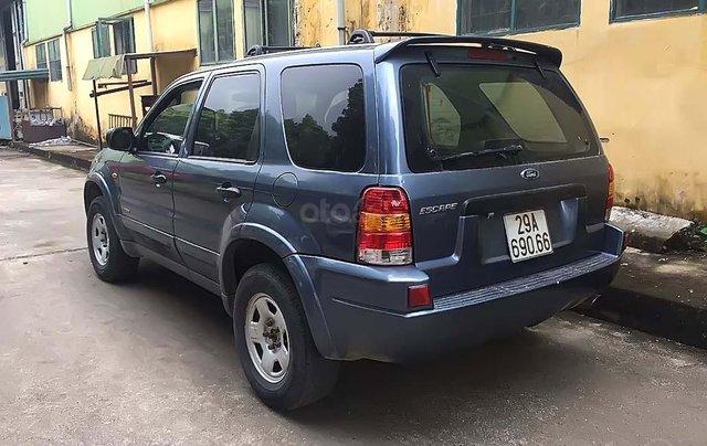 Bán Ford Escape 2.0L 4x4 MT đời 2003, màu xanh lam, 150tr4