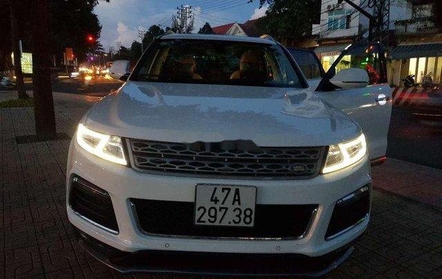 Bán Zotye T600 2017, màu trắng, nhập khẩu9