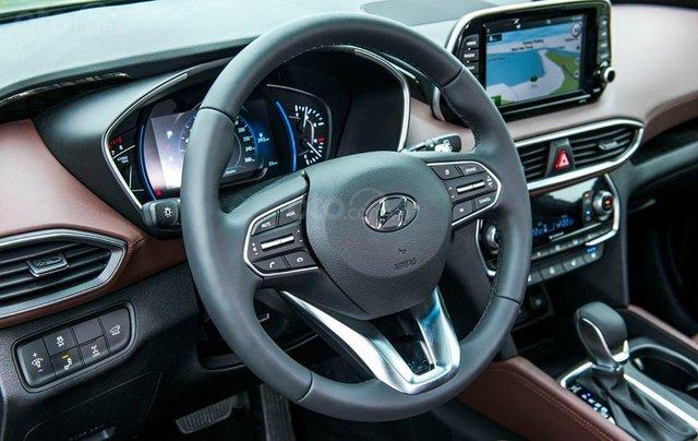 Hyundai Santa Fe 2019, giảm tiền mặt + tặng phụ kiện 50tr, hỗ trợ vay 85%, lãi suất thấp, giao xe tận nơi5
