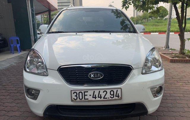 Bán xe Kia Carens 2.0AT năm 2011, màu trắng2