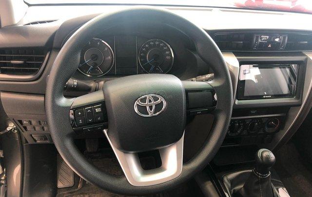 Bán ô tô Toyota Fortuner 2.4G Số sàn đời 2019, màu bạc, giá chỉ 933 triệu12